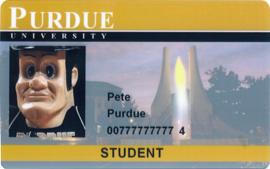 Purdue IDCard Pete